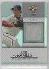 2012 Topps Triple Threads Unity Relics #TTUR-127 Cole Hamels Baseball Card
