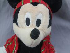APPLAUSE MICKEY MOUSE PLUSH STRIPED PAJAMAS DISNEY CHRISTMAS HOLIDAY BIG TOY