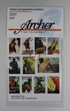 Archer 1/35 Italian Propaganda Posters (22 posters) [Printed Diorama] AR35370