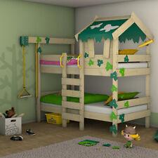 WICKEY CrAzY Ivy Kinderbett Abenteuerbett Doppelbett Holzbett Hochbett 90x200 cm