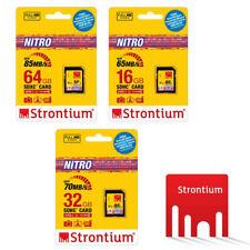 Strontium NITRO UHS-1 16GB 65MB/s 32GB 70MB/s 64GB 85MB/s SD SDHC SDXC Card