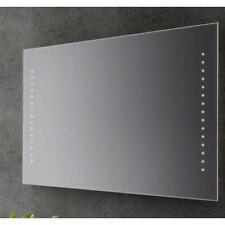 Specchio bagno design filo lucido retroilluminato led 100x70 cm