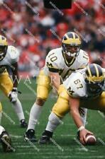 EK88 Tom Brady Michigan Wolverines Before Snap Football 8x10 11x14 16x20 Photo