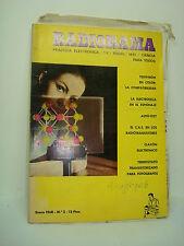 LIBRO - BOOK. RADIORAMA. PRACTICA ELECTRON/TV/RADIO Nº 2 EN 1968.  COD$*46