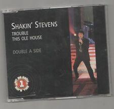 shakin stevens - trouble   cd single