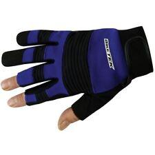BikeTek Open Finger Motorcycle Mechanic Gloves GLVMEC10 Bike Workshop Glove New