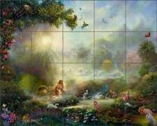 Garden of Eden Tile Backsplash Ceramic Mural duBois Religious Art TDA032