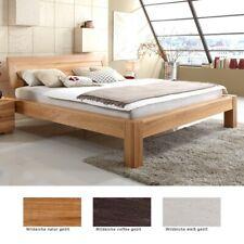 Massivholzbett Thun Premium Eiche Farbe und Größe nach Wahl Futonbett Bett