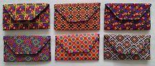 Indian Handmade Vintage Ethnic Ladie Purse Thread Clutch Bag Hipi Boho Gypsy