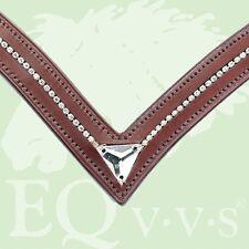 "EQvvs Diamante ""V"" Browbands # 9838"