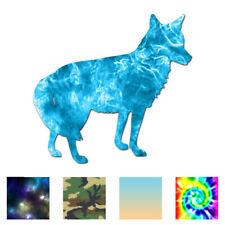 Coyote Jackal - Vinyl Decal Sticker - Multiple Patterns & Sizes - ebn177