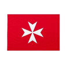 Bandiera da pennone Sovrano Militare Ordine di Malta 150x225cm