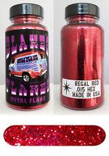 Blakes Metal Flake .015 Regal Red Hot Rod Custom Paint job automotive 2oz jar