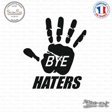 Sticker JDM Bye Haters Decal Aufkleber Pegatinas D-093 - Couleurs au choix