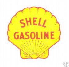 SHELL #2 GASOLINE VINYL STICKER (A472)