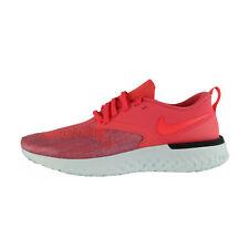 Nike Odyssey React 2 Flyknit Mujer Rojo/Gris AH1016-800
