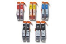 10x TINTENPATRONE black + color für HP 364XL Photosmart 5510 e-all-in-one