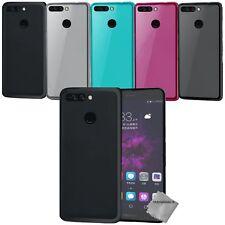 Housse etui coque pochette silicone gel fine pour Huawei Honor 8 Pro (V9) + film