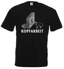 SPASS T-Shirt | Kopfarbeit | Partyshirt | Humor | Intelligenz | Lustig    10-862
