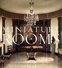 MINIATURE ROOMS - WEINGARTNER, FANNIA/ HATTON BOYER, BRUCE (INT) - NEW HARDCOVER