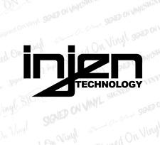 """(2) 6"""" Injen decal vinyl sticker exhaust air filter intake drift race car laptop"""