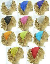 Lace Headband Womens Fashion Hair Yoga Wedding Accessories Strectch