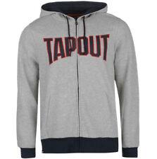 TAPOUT Zip Hoody Hoodie Sweatshirt Jumper Hoodie Size L XL 2XL Grey NEW