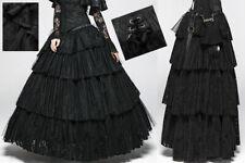 a908defa2ff Jupe jupon bal gothique princesse baroque steampunk volants dentelle  PunkRave