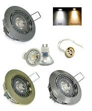 Luminaire encastré au plafond Lisa 230V DIMMABLE GU10 5W= 50W COB