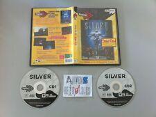 Silver RPG/jeu de role (genre Final Fantasy 7 VII) 1999 PC FR
