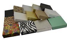 100 Cotton Filled Pendant Bangle Multi Purpose Boxes-90x90mm-Colour Choice BD33