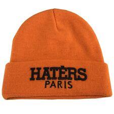 UNNATURAL BRAND cappello unisex arancio taglia unica maglia elasticizzata HATERS