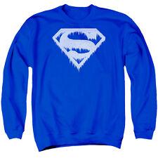 SUPERMAN ICE AND SNOW SHIELD Men's Sweatshirt Crewneck
