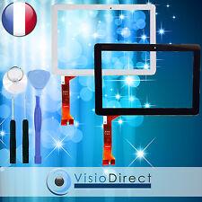 Vitre ecran tactile pour Asus Memo Pad ME102 ME102A blanc/noir + outils