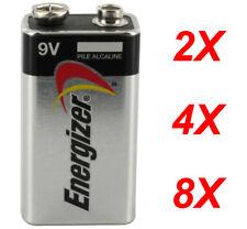 Energizer Duracell 9V Volt Alkaline Battery Batteries brand new Free Postage