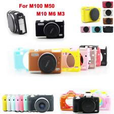 Silicone Rubber Camera Bag Body Cover Case Skin For Canon EOS M100 M10 M50 M6 M3