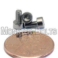 2.5mm / M2.5 x 0.45 - Stainless Steel SOCKET HEAD Caps Screws DIN 912 A2 18-8