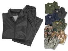 Traje lluvia lluvia combi lluvia chaqueta lluvia pantalones la humedad protección s-4xl muchos colores nuevo