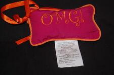 "OMG Door Hanger Oh My Goodness 7"" Rose Orange Stuffed Animal Lovey toy"