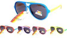 lunettes de soleil enfant polarisantes polarisées 6 7 8 ans aviateur 203007