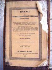 Journal connaissances usuelles,Gillet de Grandmont 1831