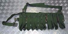 Genuine British Army Issue 40mm 11 Pouch Grenade Bandolier  Woodland Camo - NEW