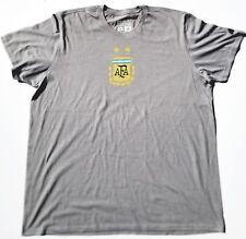World cup Argentina international soccer team adidas climalite gray T-shirt.
