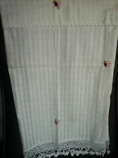 Cortina de Panel Confeccionada Flor algodón 115 x 70cm (anch H)