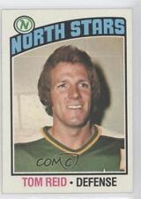 1976-77 Topps #123 Tom Reid Minnesota North Stars Hockey Card