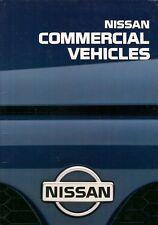 Nissan Sunny Van Vanette Cargo Urvan Pick-Up Cabstar 1995 UK Market Brochure