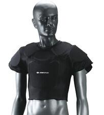 Protezione rugby spalle petto mis. S-M-L-XL inserti poliuretano CORSPORT