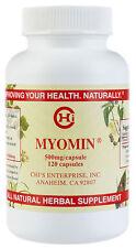 Myomin by Chi Enterprise Inc. - 500mg / Capsule - 120 Caps - Herbal Supplement