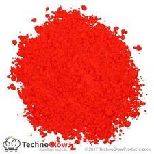 Fluorescent Powder, ROCKET RED - UV Reactive Powder / Pigment