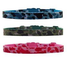"""bleu vert rose """" Camouflage """" Collier pour Chihuahua chien chiot & ou Laisse"""